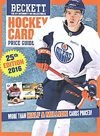Beckett Hockey Card Price Guide 2016