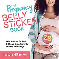 The Pregnancy Belly Sticker Book