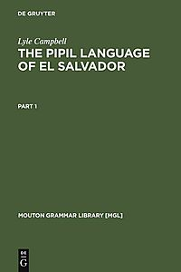 The Pipil Language of El Salvador