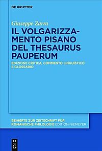 Thesaurus Pauperum Pisano