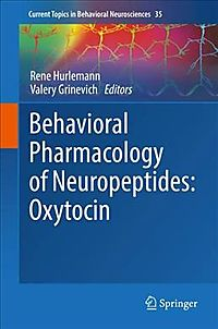 Behavioral Pharmacology of Neuropeptides