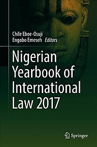 Nigerian Yearbook of International Law 2016