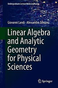 New used books cheap books online half price books linear algebra and analytic geometry for physical sciences fandeluxe Choice Image