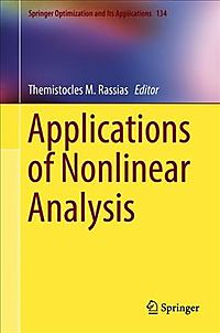 Applications of Nonlinear Analysis