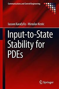 Input-to-state Stability for Pdes