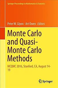 Monte Carlo and Quasi-monte Carlo Methods
