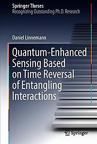 Quantum-enhanced Sensing Based on Time Reversal of Entangling Interactions