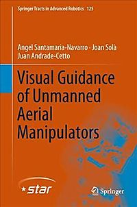 Visual Guidance of Unmanned Aerial Manipulators