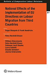 National Effects of the Implementation of Eu Directives on Labour Migration from Third Countries