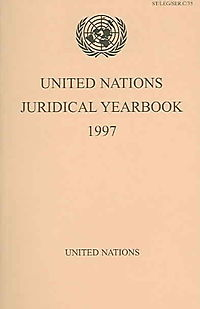 United Nations Juridical Yearbook 1997
